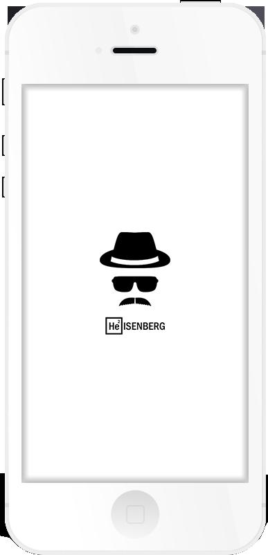 Heisenberg Respring Logo White example