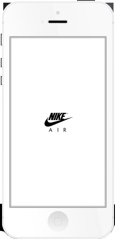 Nike AIR Respring Logo White example